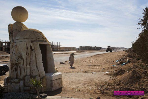Finalmente uma foto que lembra o Egito, né?