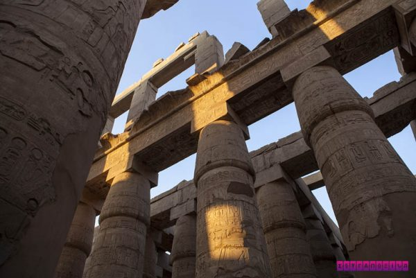 Templo de Luxor, no Egito.