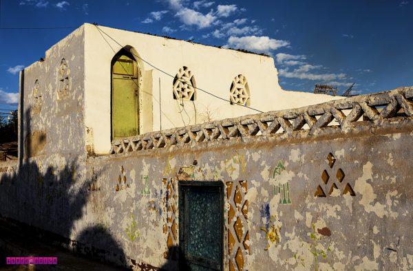 Casa na Nubian Village em Aswan - Egito.
