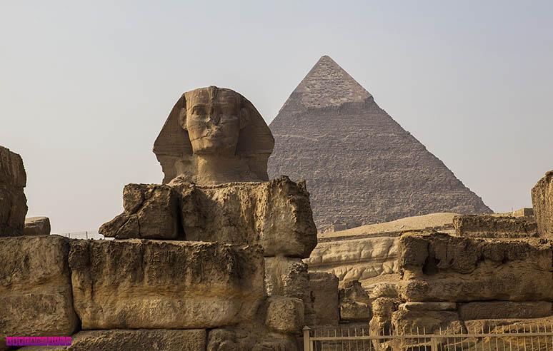 A famosa Esfinge! - Cairo, Egito.