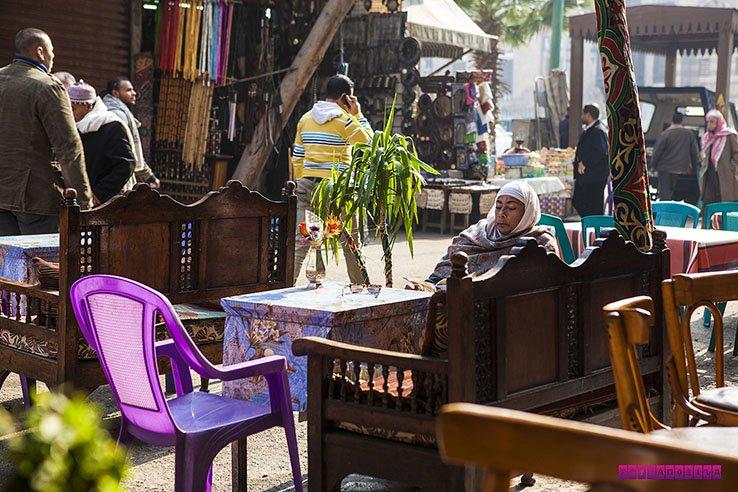 Uma cena típica do Egito!