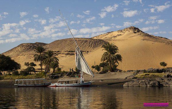 Mais uma foto de Aswan/Egito, cidade banhada pelo Rio Nilo.