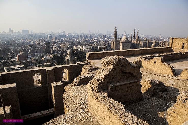 Vista do Cairo, capital do Egito.