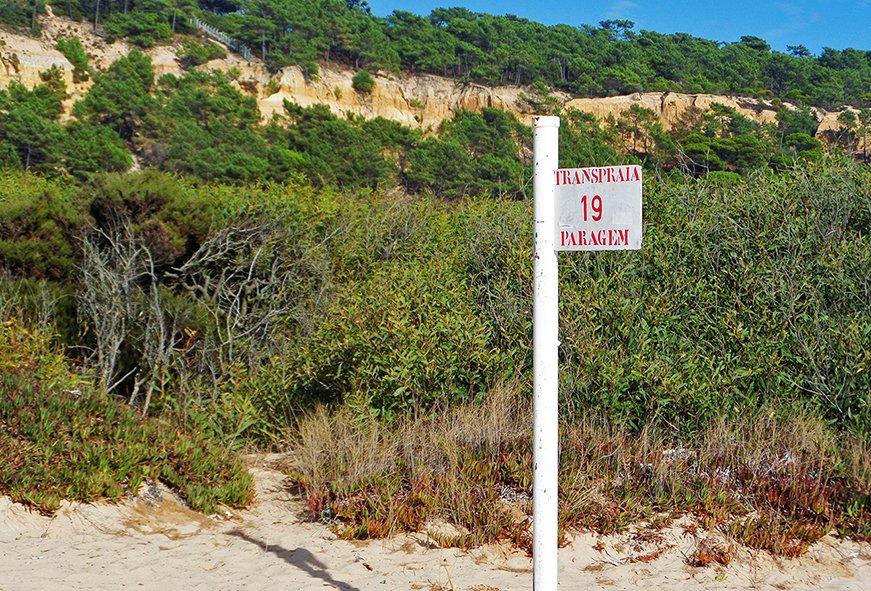 A plaquinha não deixa dúvida: você chegou (finalmente!) à Praia 19