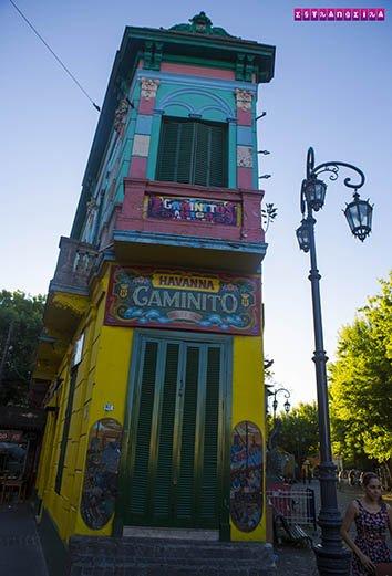 O bairro colorido de Buenos Aires!