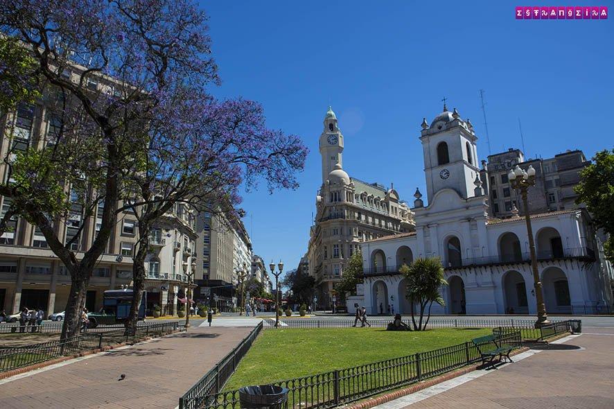Prédio do Cabildo na Plaza de Mayo