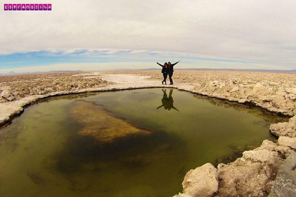 Água e Sal - Atacama - Chile