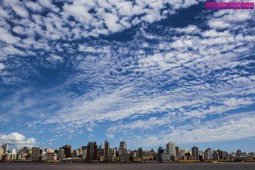 Porto Alegre vista do Rio Guaíba