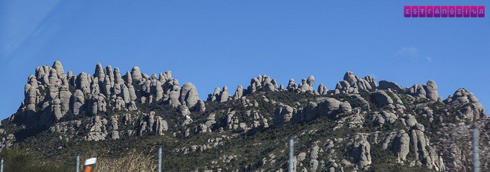 Área de Montserrat, em Manresa, que fica a uns 30 m de Barcelona
