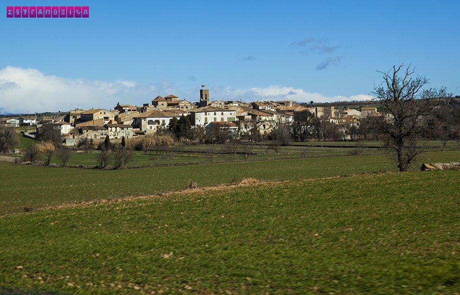 Pequeno pueblo já próximo de Andorra