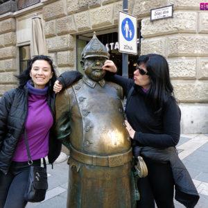 estatua budapeste