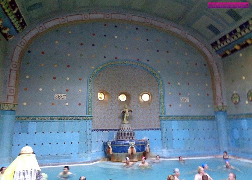 Uma das termas do Gellért Bath