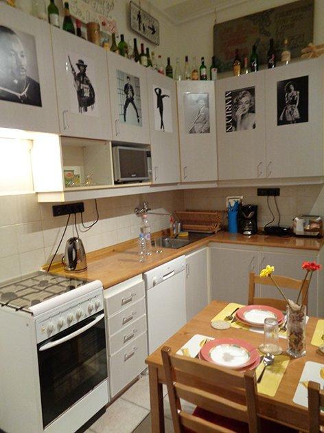 como-reservar-apartamento-no-booking-com-budapeste-cozinha