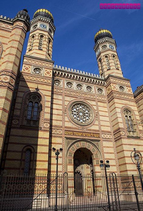 o-que-fazer-em-budapeste-hungria-Sinagoga-Dohány