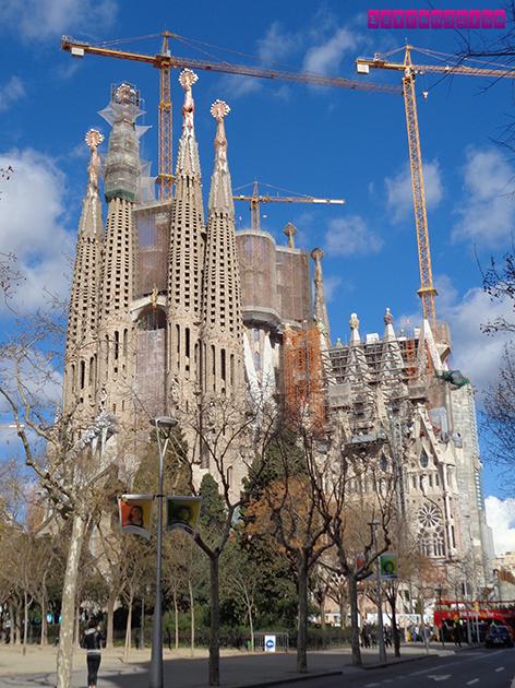 Fachada da Natividade da Sagrada Família