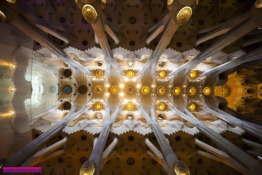 Teto da Sagrada Família