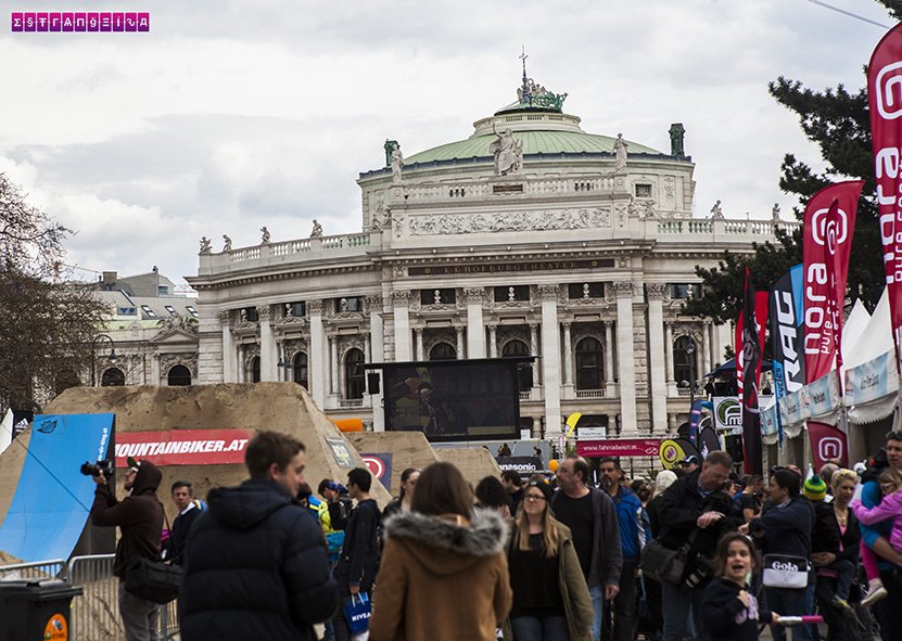 Evento de bike em Viena