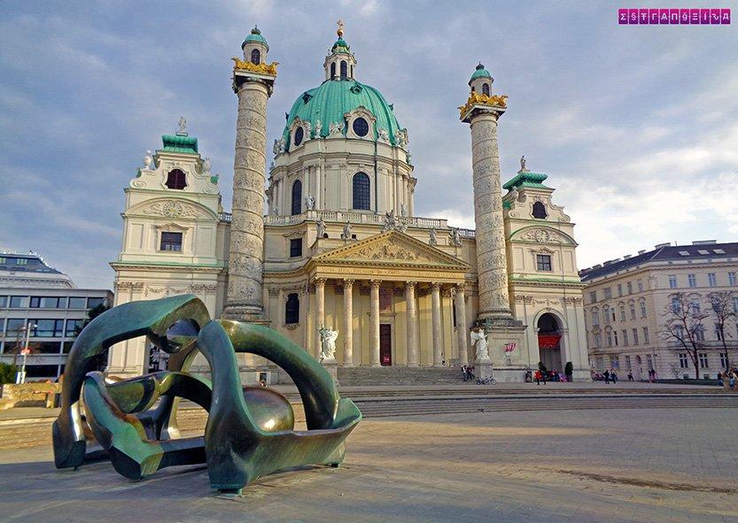 Igreja St Charles - Viena