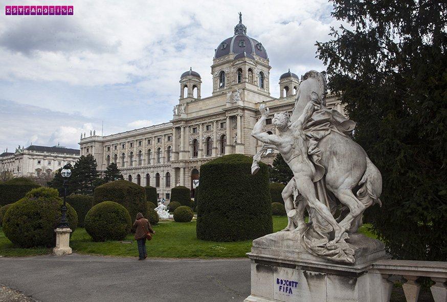 Maria Theresa Platz - Viena