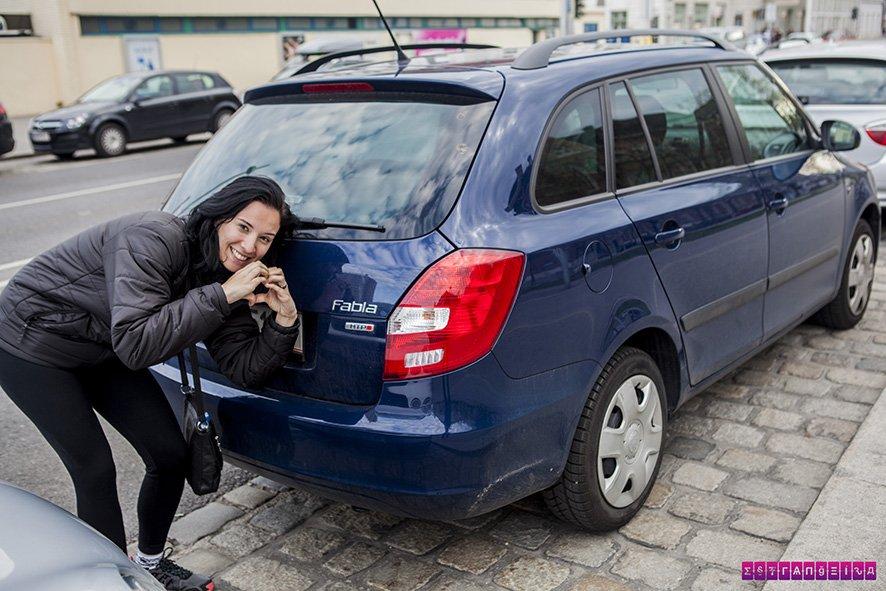 Se nós tivéssemos um carro na Europa, seria um Skoda Fabia, em homenagem à estrangeira Fabia rs