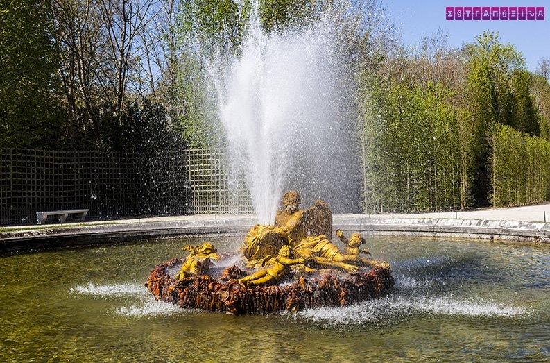 Show das águas no Palácio de Versailles - não vale o preço...