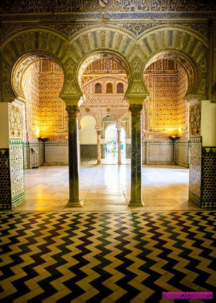 Arquitetura mudéjar no Real Alcázar