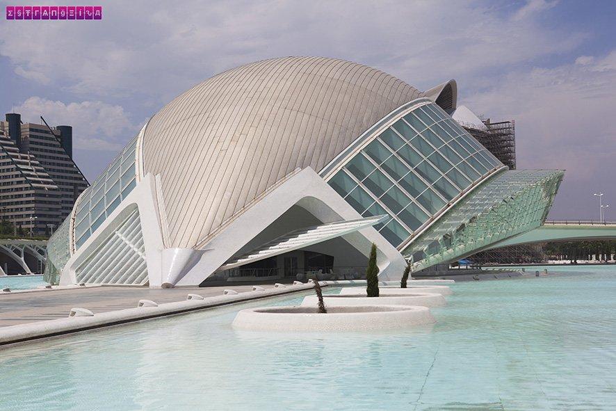 O Hemisferic na Ciudad de las Artes y Ciencias