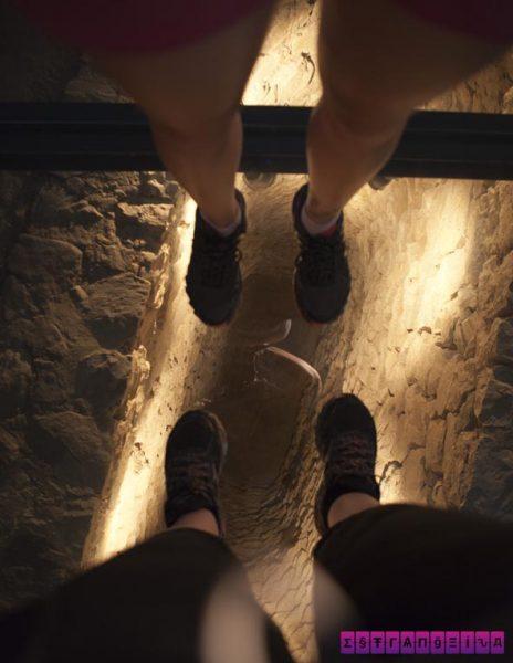 No Centro Arqueológico L'Amoina você pode andar sobre ruínas romanas!