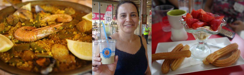 Em Valência experimente Paella, Orxata e Churros!