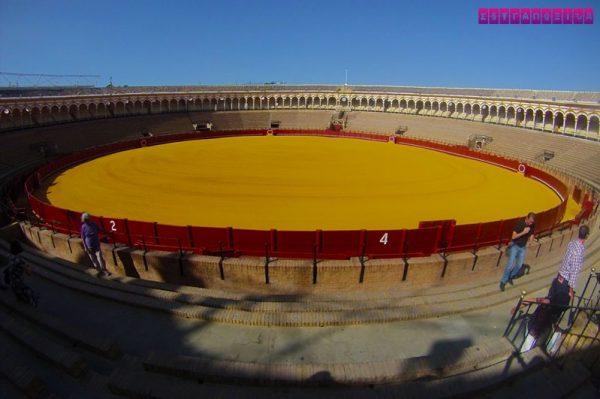 Plaza de Toros (Arena de Tourada) de Sevilha.