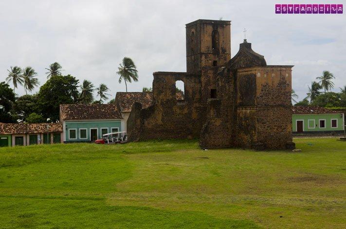 A Praça do Pelourinho vista da sacada do Museu Histórico de Alcântara