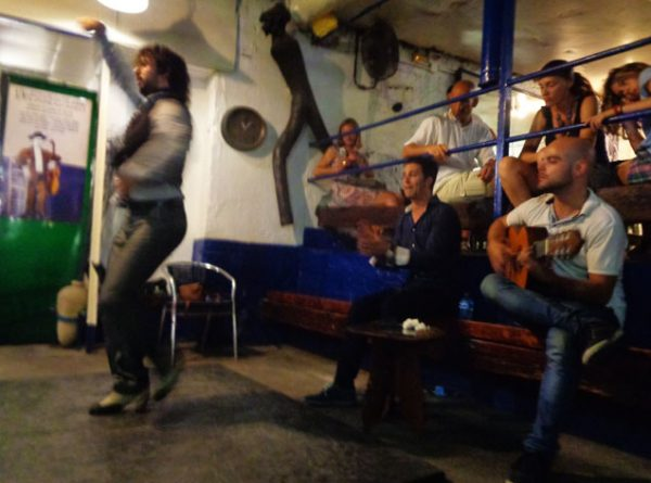 Show de flamenco sensacional no Bar Carboneria!