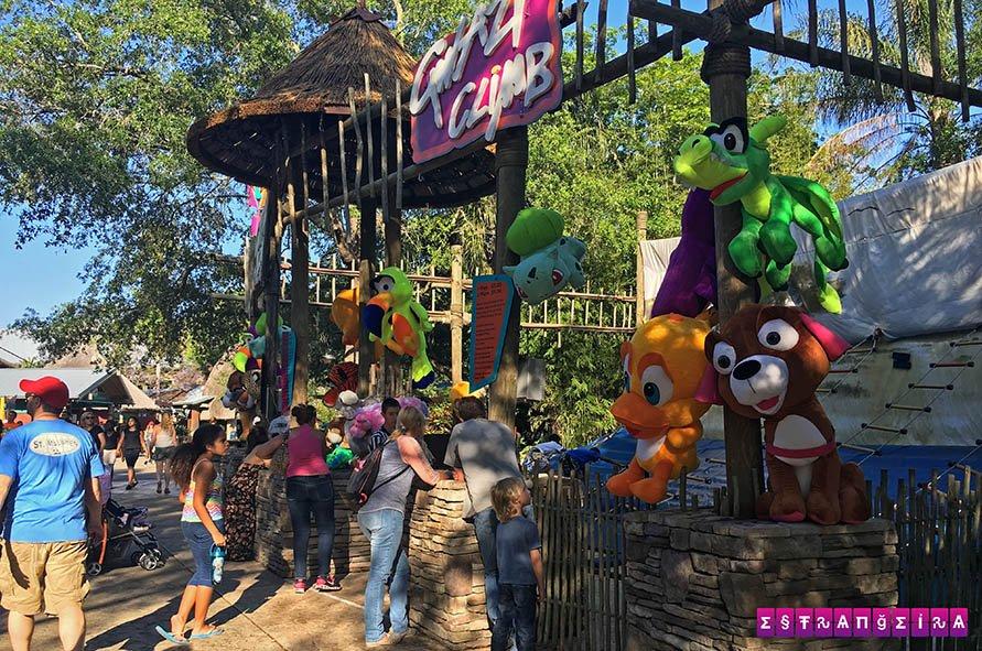 Atrações para crianças pequenas no Busch Gardens