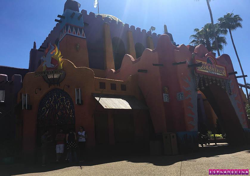 Dragon Fire Grill & Pub - comidas gostosas e com preço mediano no Busch Gardens