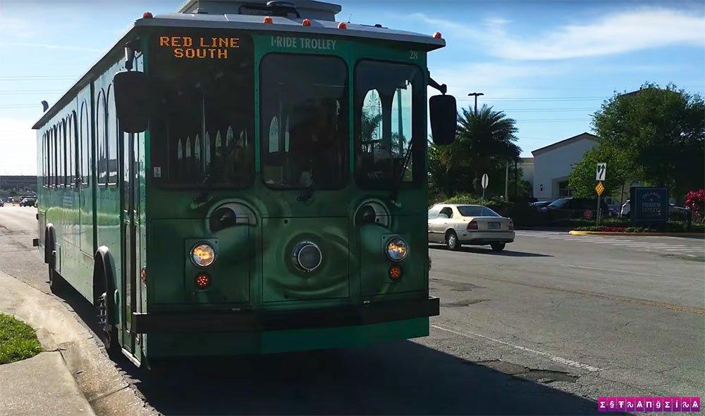 I-Ride Trolley Orlando - o bonde simpático!