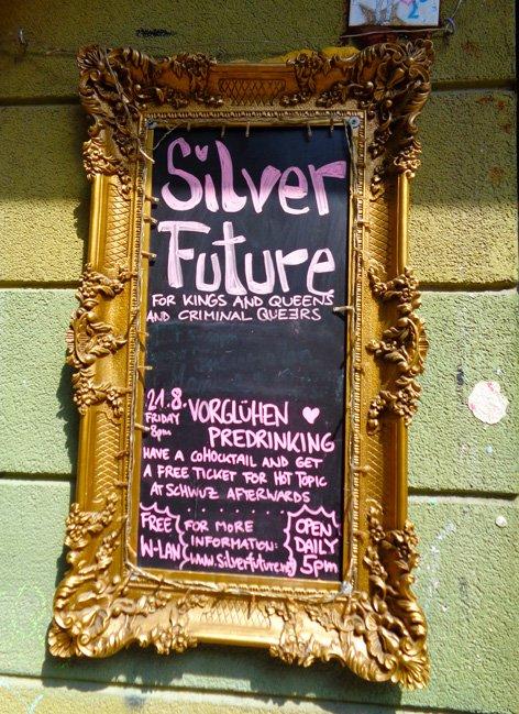 Silver Future - um bar lésbico muito legal em Berlim!