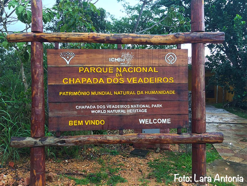 Parque Nacional da Chapada dos Veadeiros, um patrimônio da humanidade.