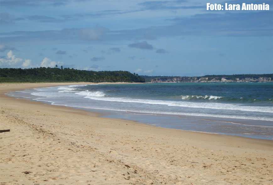 Praia de Corumbau - totalmente deserta!