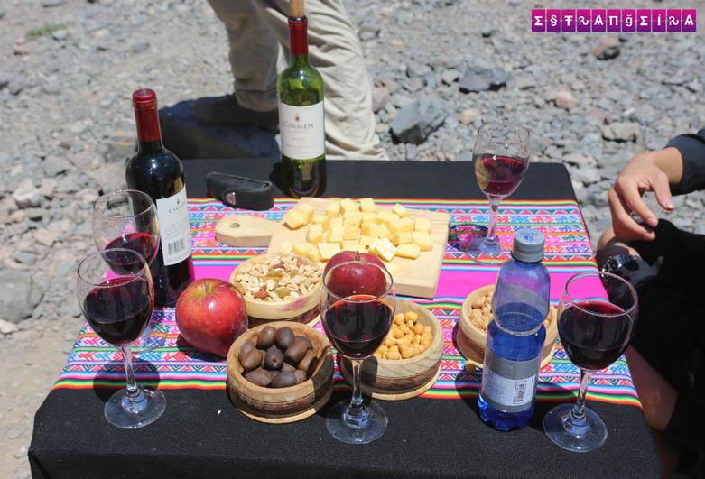 Depois do sanduíche ainda tem picnic.