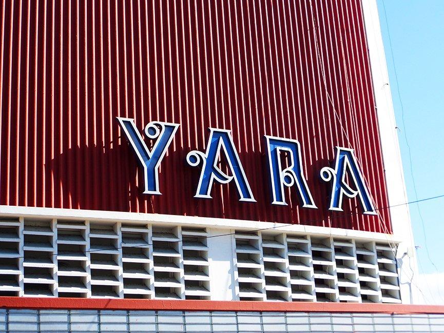 Fachada do Cine Yara, marca de uma da esquinas mais famosas de Havana.