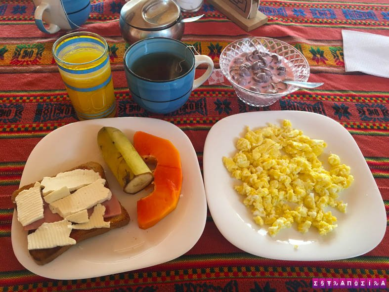 hospedagem-uyuni-bolivia-hotel-salcay-cafe-da-manha