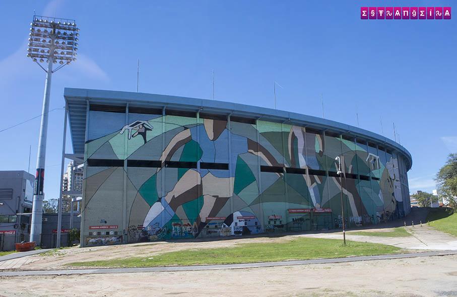 O primeiro mundial de futebol aconteceu aqui.