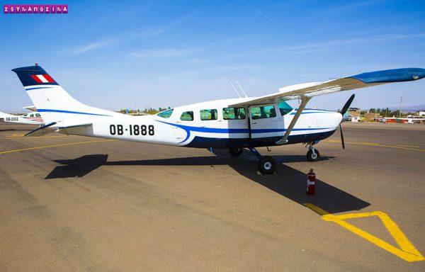 Hora de levantar voo em Nazca