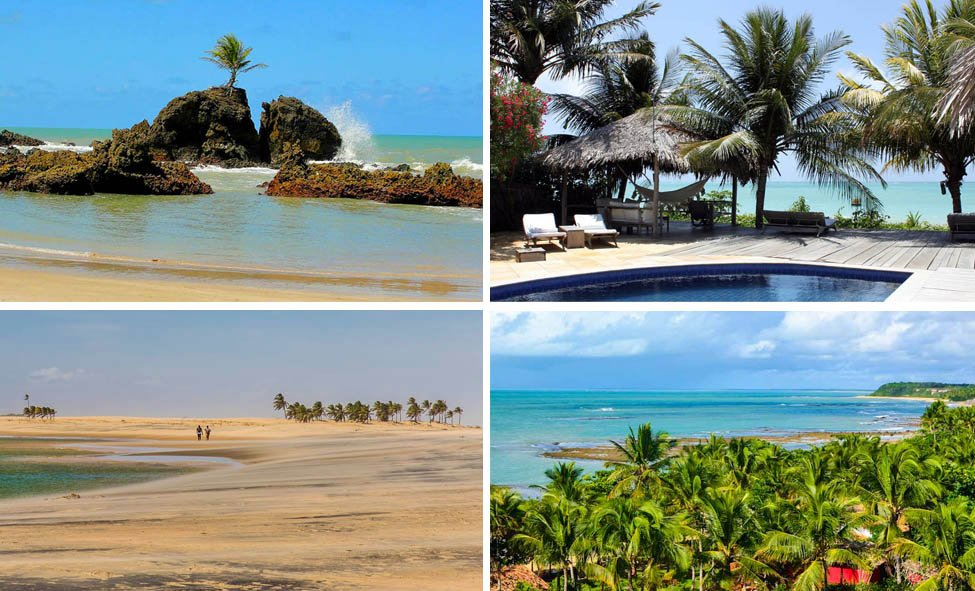Tem Na Web - As melhores praias do Brasil segundo blogueiros