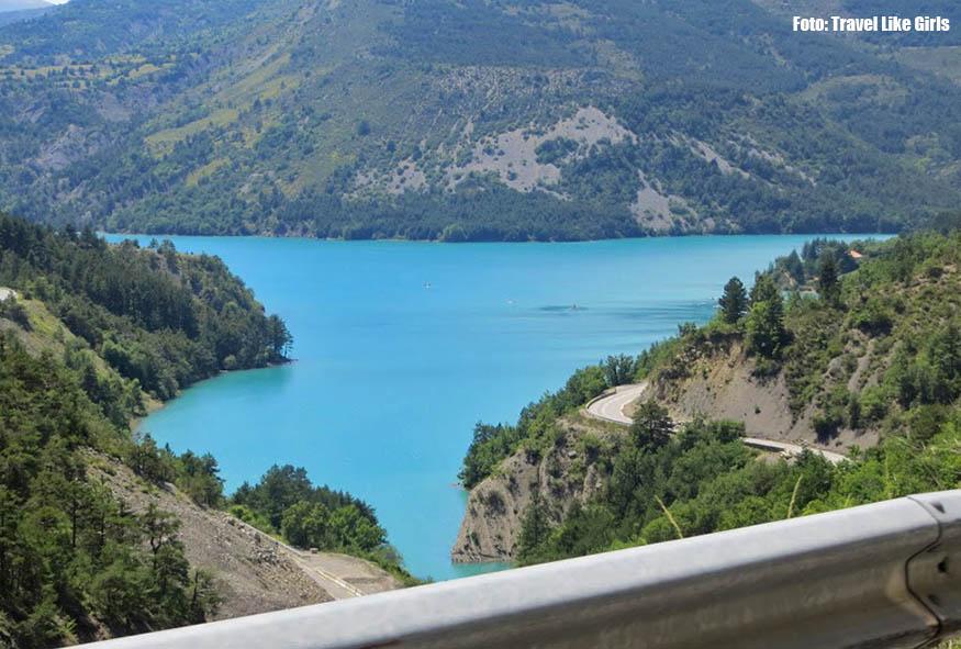 Já na estrada em direção a Nice (Côte d'Ázur) a gente se ligou que a viagem ia ser ótima, a cada paisagem ficávamos de boca aberta
