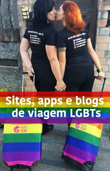 sites, apps e blos de viagens LGBTs foto lésbicas blog Estrangeira