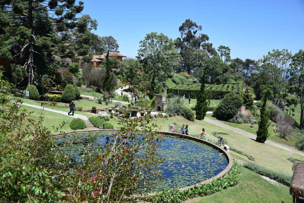 Vista dos Jardins Amantkir. Foto: Viagem em Detalhes