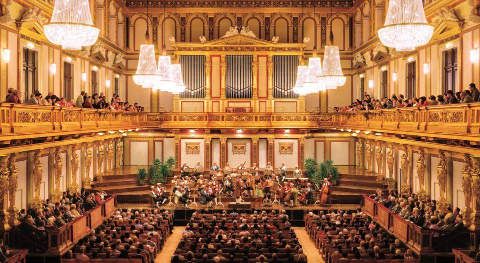 Assistir ao concerto da Viena