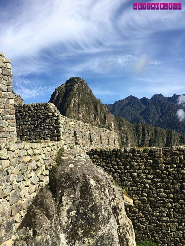 Não existem palavras para descrever o que eu senti em Machu Picchu...