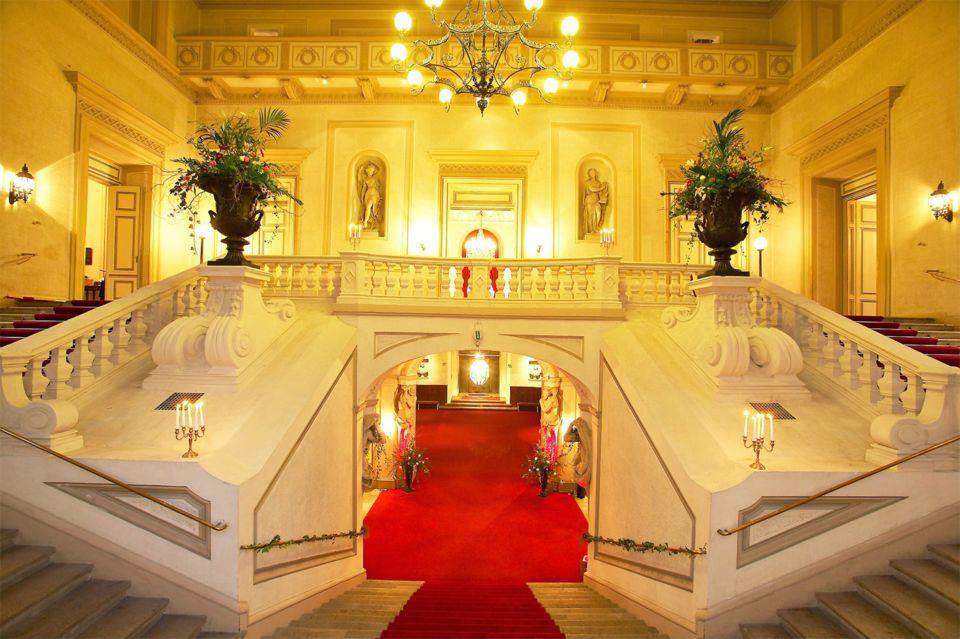 O lindo Palais Auersperg é onde ocorrem os concertos da Orquestra de Viena. Foto: GetYourGuide.